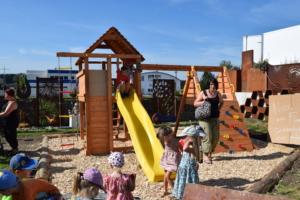 Gartentage Spielplatz Betzigau beim Metallmichl im Rostigen Garten
