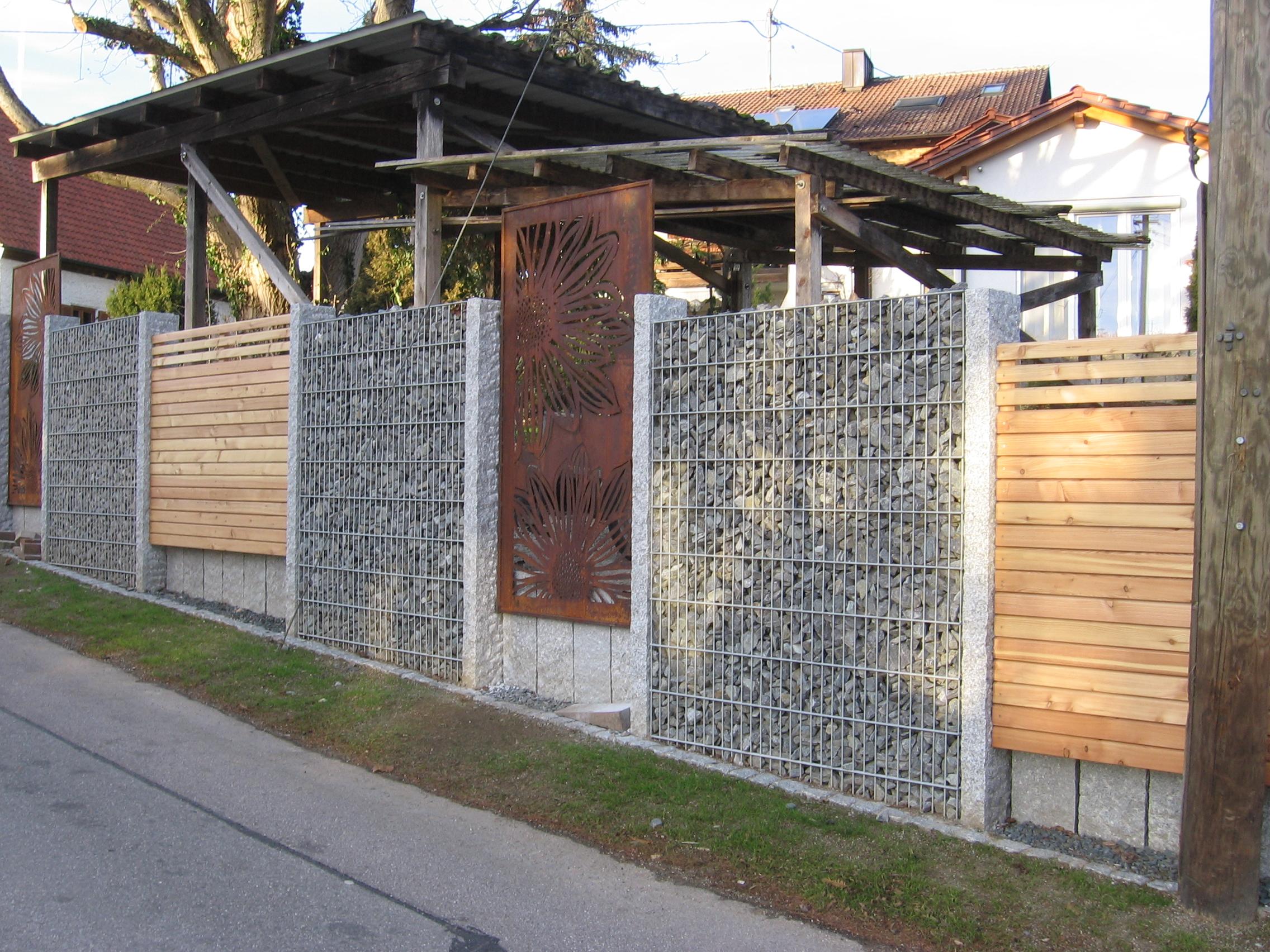 Wie werden edelrost sichtschutz paravents aus metall for Garten edelrost