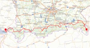 Bodensee - Königsee Radweg - Allgaeu Radweg - Betzigau - Kempten