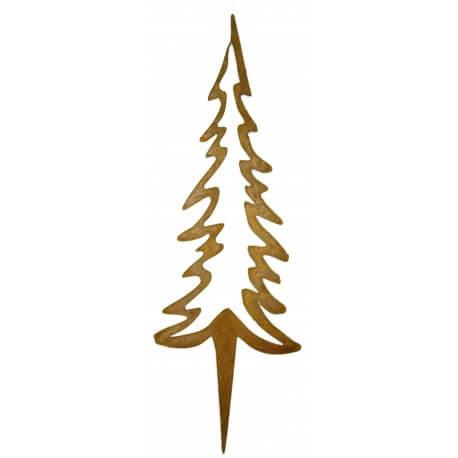 Weihnachtsdeko Aus Metall.Der Rostige Garten Im Winter Der Rostige Garten Betzigau