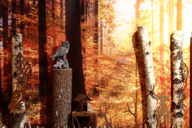 Herbst _ Wald _ Gartendeko _ Metallkunst