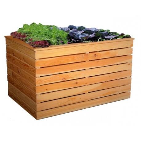 Hochbeete Holz - Gartendeko - Metallmichl