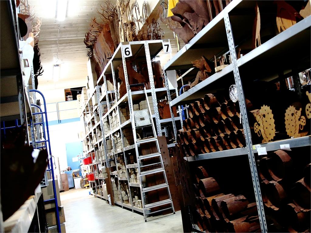 Lager und Verkauf _ Edelrostshop - Metallmichl