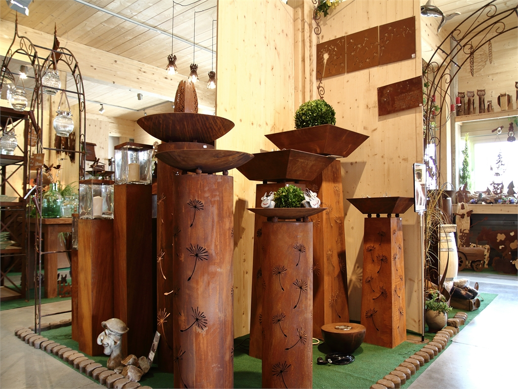 Ladengeschäft und Verkauf - Der Rostige Garten Betzigau